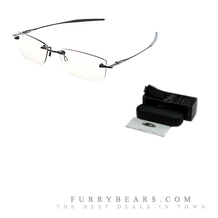 pvcxf Oakley 31Thirteen Polished Black Prescription Glasses