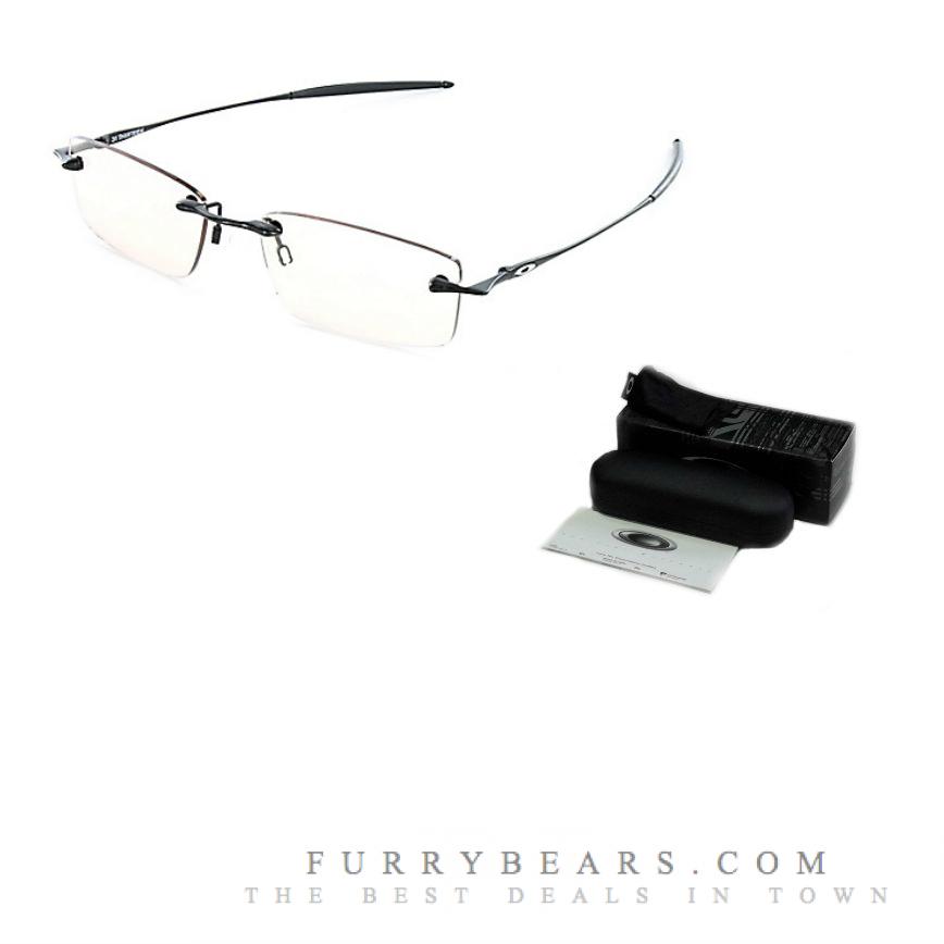 pvcxf Oakley 31Thirteen Polished Black Prescription Glasses