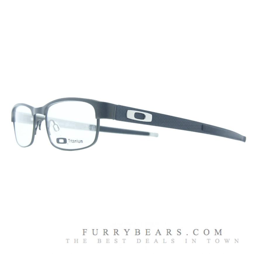 Oakley Carbon Plate Pewter Prescription Glasses