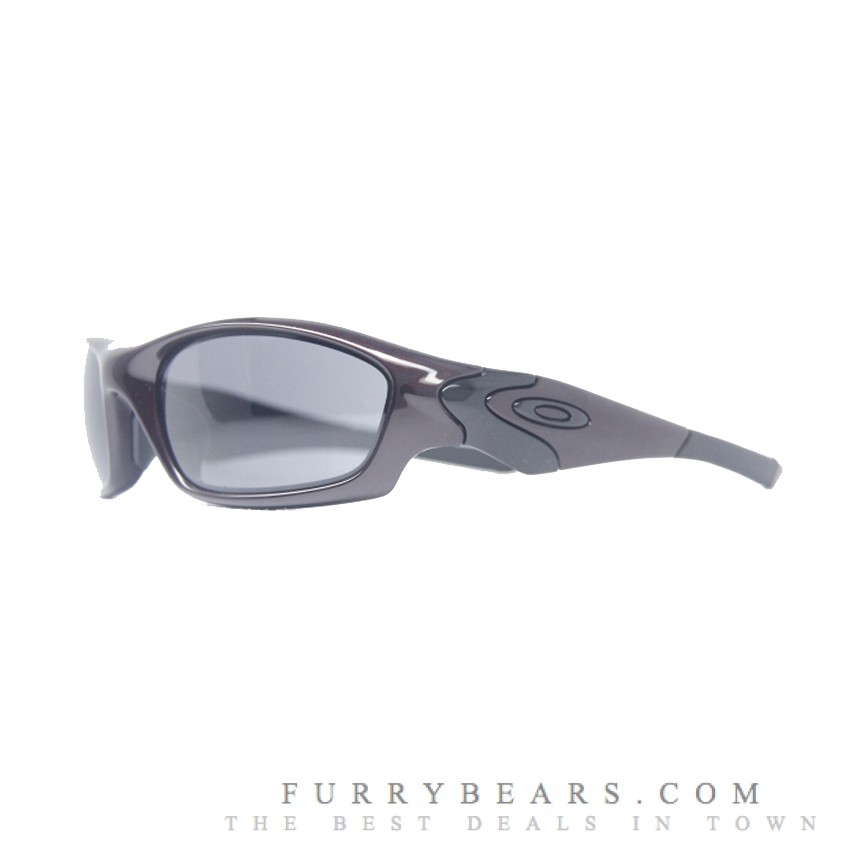 Oakley Straight Jacket Asian Fit Sunglasses Blood Grey Colour